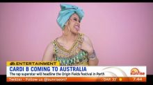Cardi B coming to Australia