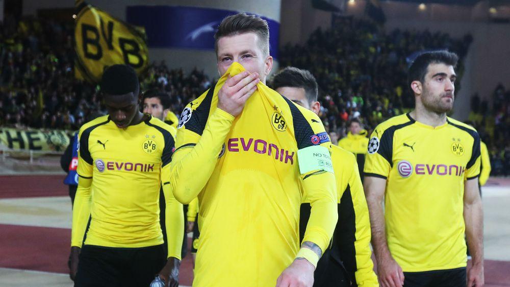 Reus rues sloppy start in Dortmund's Champions League exit