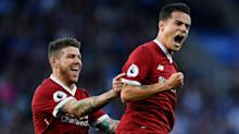 Coutinho helps halt Reds' slump as Vardy misses spot kick