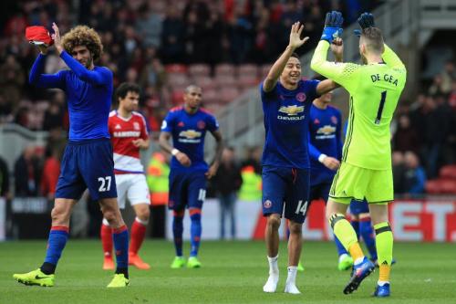 英超》曼聯3-1米德爾斯堡  首支達600勝球隊