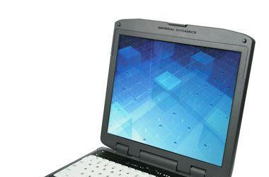 General Dynamics Itronix GD8000 notebook for extreme conditions, or the extremely clumsy