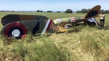Pilot killed in crash of replica WWI-era plane in California