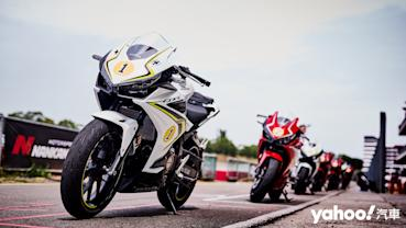 【新車圖輯】日常騎乘無負擔、飆上賽道更帶勁!2020 Honda CBR500R麗寶卡丁賽道試駕!