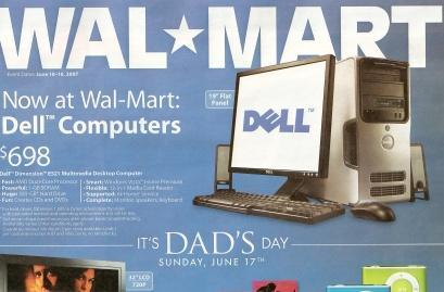 Sunday's Wal-Mart ad confirms $698 Dell specs