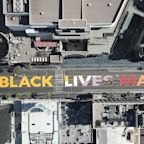 An Illinois man faces eviction for hanging Black Lives Matter banner from his balcony