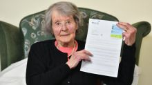 War hero questions 'gobbledygook' British Gas letter riddled with spelling mistakes