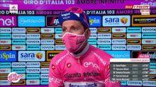 Cyclisme - Giro : Almeida : «De la souffrance jusqu'au bout»