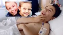 'Superhero' boy still healing years after pushing brother from path of car