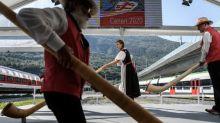 Schweiz eröffnet 15 Kilometer langen Ceneri-Basistunnel