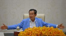 Cambodia's leader calls for foreign military drills, aid