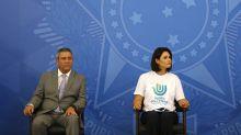 Com Michelle e sem Bolsonaro, governo lança programa de arrecadação de doações contra coronavírus