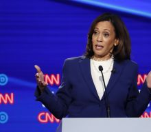 The Latest: Sarah Palin offers running mate advice to Harris