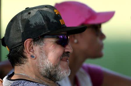 La FIFA dice no ha sabido de Maradona tras amenaza de dejar cargo de embajador