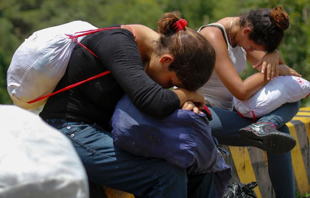 According to United Nations figures, 1.9 million Venezuelans have fled the country since 2015.