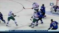 Mikko Koivu ties it up with 4.3 seconds left