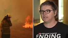 Domestic violence activist slammed for 'idiotic' comments about firefighters