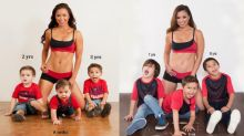 'Hot mom' recreates controversial photo 5 years later — with a surprising twist