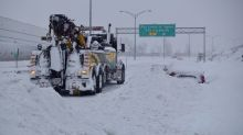 What went wrong on Highway 13, where at least 300 were stranded overnight?