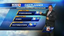 More storms for your Thursday