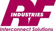 RF Industries Announces Quarterly Cash Dividend