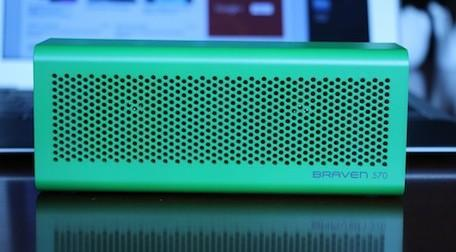 Braven 570 Bluetooth speaker / speakerphone / charger: Affordable style