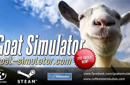 Goat Simulator launch trailer kids around with Dead Island