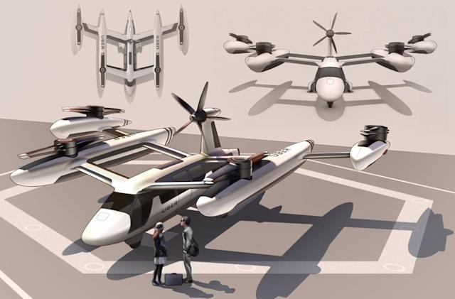 Uber partners with UT Austin and US Army Research Labs on flying cabs