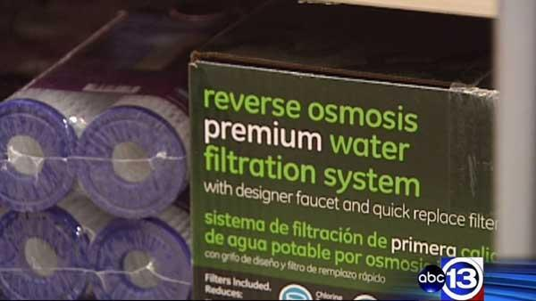 Consumer Reports tests water filtration systems