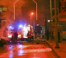 Explosion outside soccer stadium in Istanbul
