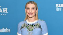 Emma Roberts Is Officially a Brunette Again