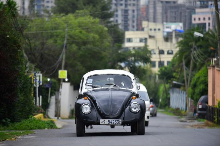 The love for the VW Beetle in Ethiopia goes back decades, and is rooted in both economics and nostalgia (AFP Photo/MICHAEL TEWELDE)