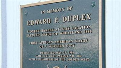 Wheatland Remembers 1st Black Mayor In The West