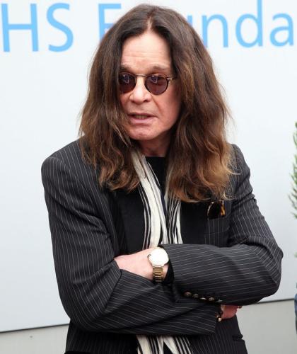 Ozzy Osbourne claimed sex addiction. (Photo: Splash News)