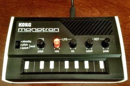 KORG Monotron analog ribbon synths: Fun pocket-sized music accessories