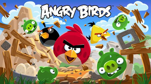 'Angry Birds Champions' lets players fling pheasants for real money