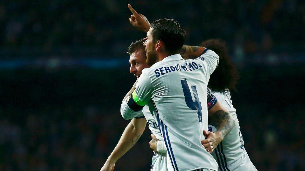La reacción de Sergio Ramos por el 4-0 al Barcelona