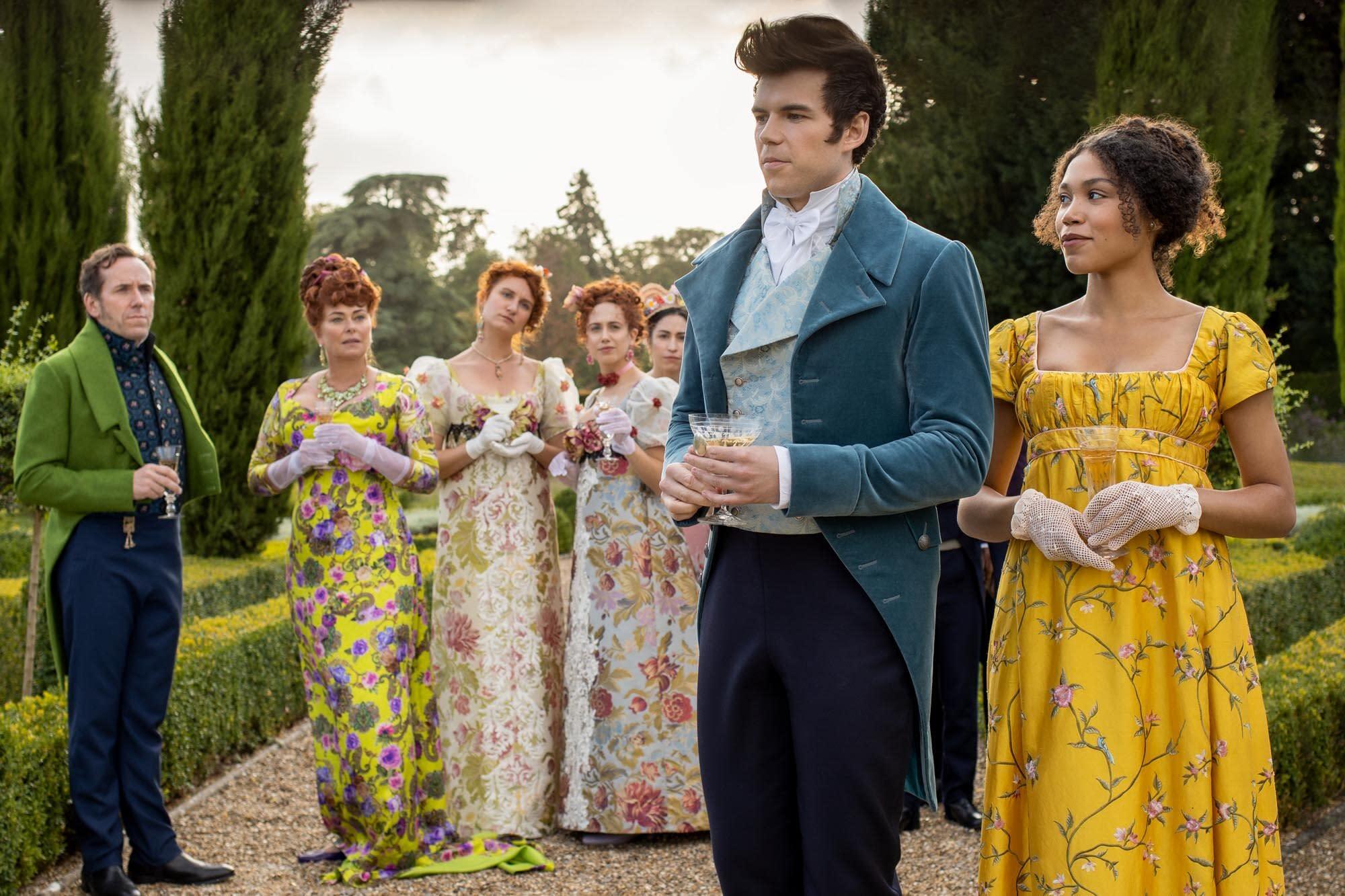 Bridgerton on Netflix: Everything We Know About Shondalands Downton Abbey-Gossip Girl