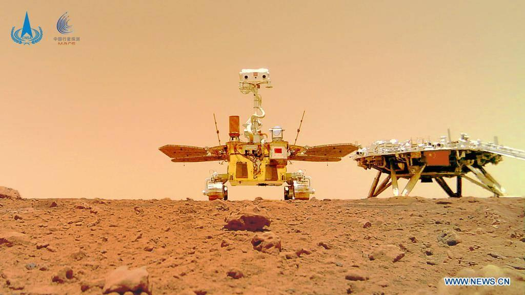 China may have snapped the greatest Mars selfie ever - Yahoo Entertainment