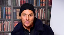 Matthew McConaughey pleads with fans to stay indoors during coronavirus outbreak