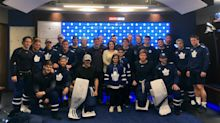 Maple Leafs meet Kade Foster, 11-year-old boy from viral tweet