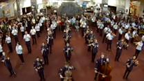 Instant Index: Flash Mob at the Air and Space Museum