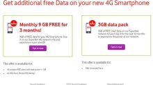 Reliance Jio effect: Now, Vodafone offers 27GB free 4G data for 3 months; here's how you can get it