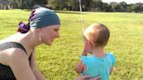Growing Baby Girl Bids Farewell to Her Pacifier