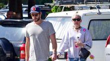 Miley Cyrus and Liam Hemsworth Wear Wedding Rings