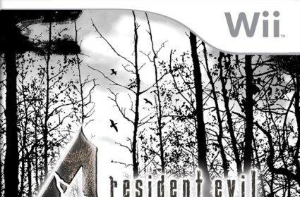 Wii Warm Up: Check out this RE4 boxart