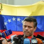 Venezuela opposition figure Lopez en route to Spain after leaving Caracas embassy: family