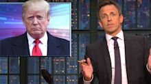 Seth Meyers Makes The Case For Trump To Be Called A Linguistic Genius