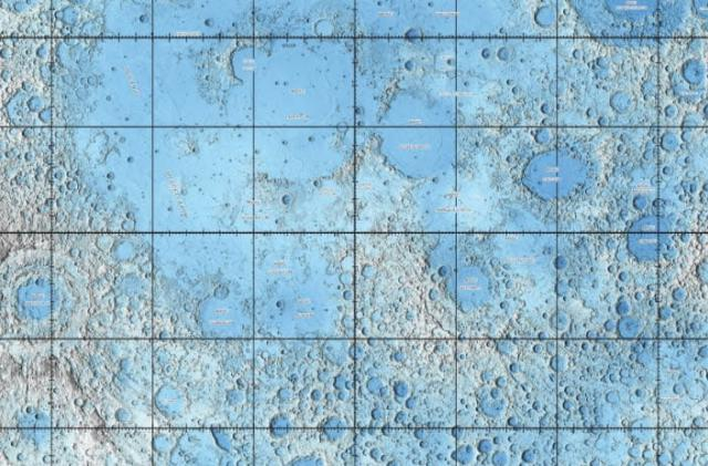 New lunar maps let you explore the moon from your couch