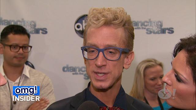 Andy Dick Offers Support and Advice to 'Glee's' Cory Monteith