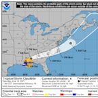 Latest Tropical Storm Claudette briefing forecasts potential tornadoes in SC Midlands